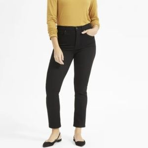 Ankle High-Rise Black Jeans by Everlane (NEW!)